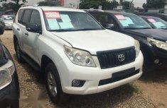Toyota Land Cruiser Prado 2013 White for sale