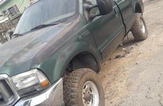 Ford F250 2005 Green for sale