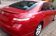 Toks Accident free 2009 Toyota Camry sport Tomato Red for sale