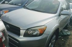 Toyota RAV4 2007 Silver for sale