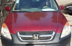 Honda CR-V 2003 2.0i ES Automatic Red for sale