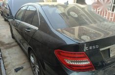 Mercedes-Benz C250 2012 Black for sale