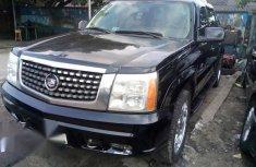 Cadillac Escarlade 2005 Black for sale