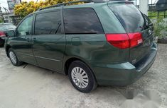 Toyota Sienna 2003 Green for sale