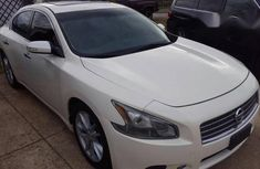 Nissan Maxima 2012 3.5 S White for sale