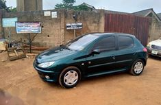 Peugeot 206 2003 Green for sale