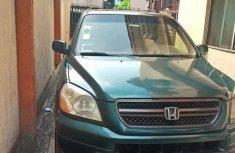 Honda Pilot 2004 Green for sale