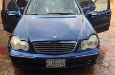 Mercedes-Benz C230 2003 Blue for sale