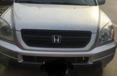 Honda Pilot 2003 Silver for sale