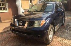 Nissan Pathfinder 2006 Blue for sale