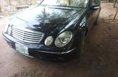 New Mercedes-Benz E500 2006 Black for sale