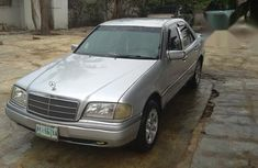 Mercedes-Benz C200 2000 Silver for sale