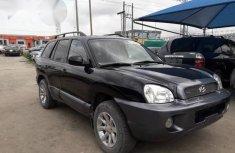Hyundai Santa Fe 2004 Black for sale