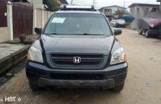 Honda Pilot 2004 EX-L 4x4 (3.5L 6cyl 5A) Gray for sale