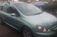 Peugeot 307 2004 Green for sale