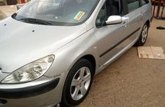 Peugeot 307 2005 Silver for sale