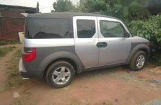 Honda Element 2003 Silver for sale