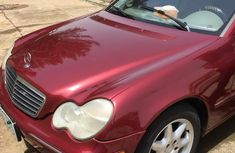 Mercedes-Benz C240 2004 Red for sale