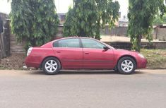 Nissan Altima Automatic 2003 Red for sale
