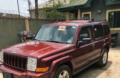 Jeep Commander 2006 Limited Red for sale
