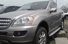 Mercedes-Benz ML350 2006 Gray for sale