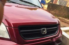 Honda Pilot 2006 Red for sale