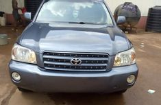 Toyota Highlander 2002 Gray for sale