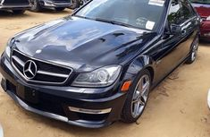 Mercedes-Benz C63 2012 Black for sale