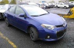 Toyota Corolla 2016 Blue for sale