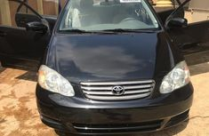 Toyota Corola LE 2004 Blue for sale