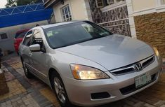 Honda Accord 2.4 2007 Silver for sale