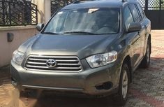 Toyota Highlander 4x4 2008 Gray for sale