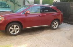 Lexus RX 350 2011 Red for sale