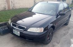 Honda Civic LX 4dr Sedan 1996 Black for sale