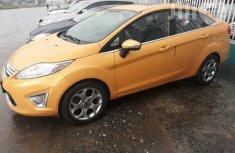 Ford Fiesta Titanium Sedan 2013 Yellow for sale