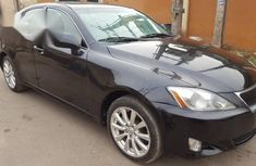 Lexus IS 2007 250 AWD Black for sale