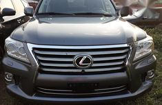 Used Lexus Lx570 2014 Gray for sale