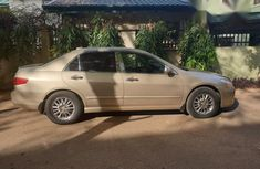 Honda Accord 2005 Automatic Gold for sale