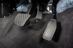 Steps on handling a stuck accelerator pedal