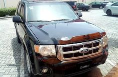Ford Escape 2010 Petrol Automatic Black for sale