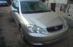 Foreign used Toyota Corolla 05 for sale