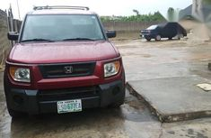 Honda Element 2006 Red for sale