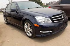 2011 Mercedes-Benz CClass C300 black for sale
