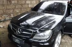 Super Clean Black Mercedes Benz C63 AMG 2009 for sale cheap