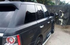 Used Range Rover Sport 2008 black
