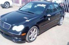 Mercedes Benz C230 sport 2007 Black for sale