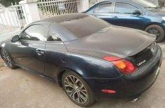 Lexus SC 430 Convertible 2010 Black for sale