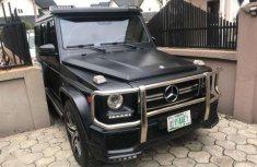 Mercedes benz G-Class 2015 Black for sale