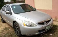 Honda Accord EOD 2003 Silver for sale