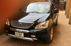 Lexus RX350 2007 Black for sale